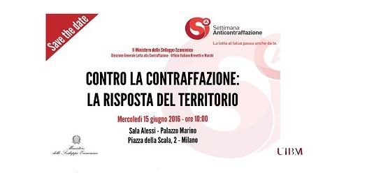Milano è… contro la contraffazione (a Palazzo Marino)