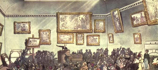 Cosa succede ad un'Asta per la vendita di un'Opera d'Arte?