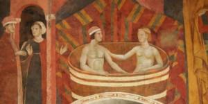 Memmo di Filippuccio Camera del Podestà, San Gimignano.
